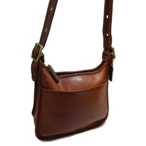 Vintage COACH Janice Legacy Brown Leather Shoulder